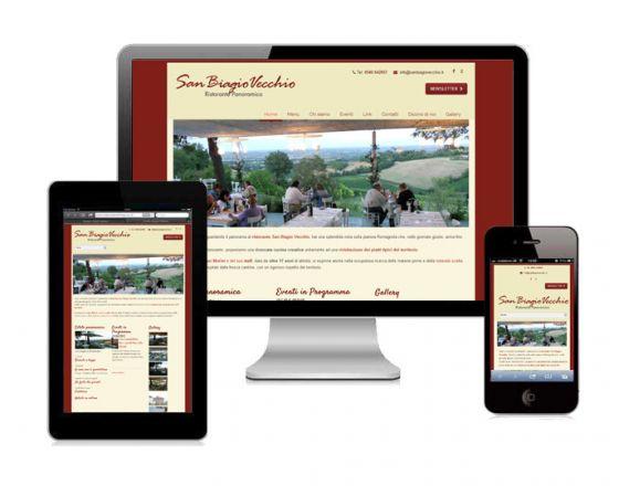 Sito Web ristorante San Biagio Vecchio